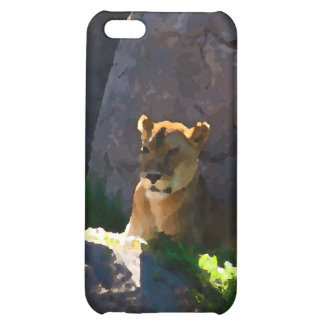Lioness on the Mount iPhone 5C Covers