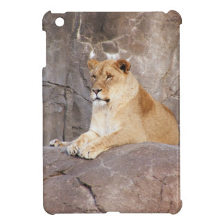 Lioness on the Rocks iPad Mini Covers