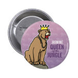 Lioness Queen of the Jungle, Add Child's Name Pin