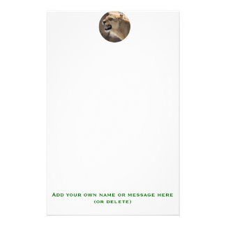 Lioness - Queen of the Jungle Stationery