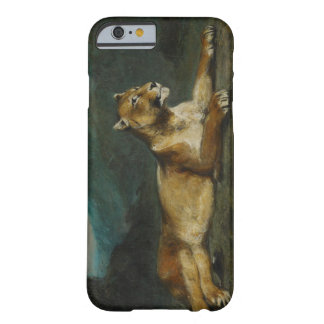 Lioness reclining, c.1855 (oil on panel) barely there iPhone 6 case