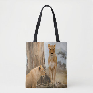 Lioness Rules Tote Bag