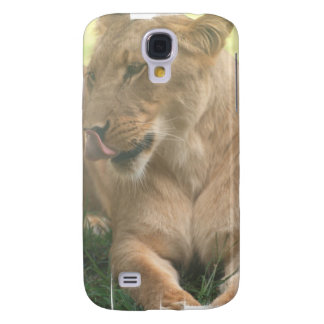 Lioness with Tongue Out iPhone 3G Case Galaxy S4 Cases