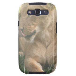Lioness with Tongue Out Samsung Galaxy Case Samsung Galaxy SIII Case