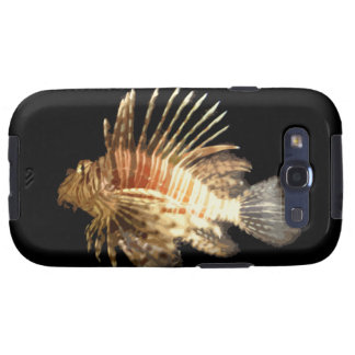 Lionfish against a Dark Background Galaxy S3 Covers