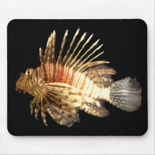 Lionfish Alfombrillas De Ratones