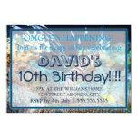 "Lionfish Birthday Invitations 5"" X 7"" Invitation Card"