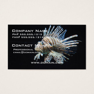 Lionfish Business Card