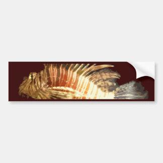 Lionfish Pegatina Para Auto
