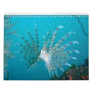 Lionfish Calendar