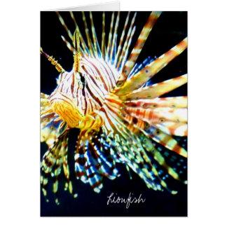 (Lionfish Card