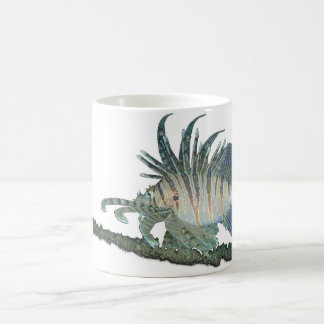 Lionfish D morphing mug