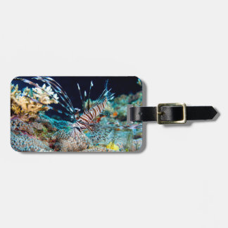 Lionfish Great Barrier Reef Coral Sea Bag Tag