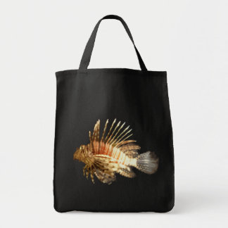 Lionfish Grocery Tote Bag