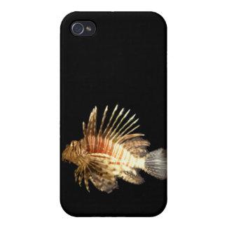Lionfish iPhone 4 Carcasas