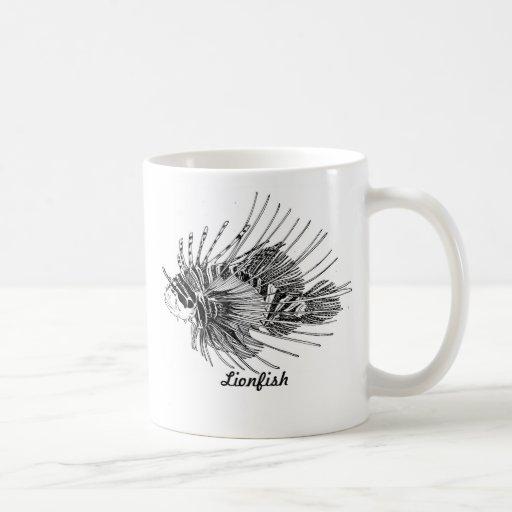 Lionfish mug