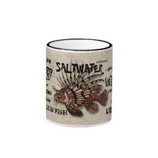 Lionfish Coffee Mugs