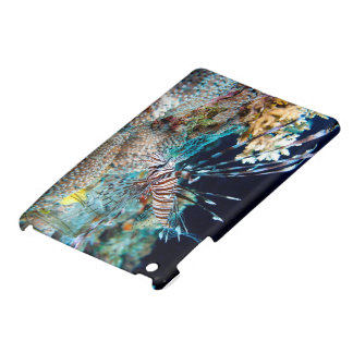 Lionfish on the Great Barrier Reef iPad case