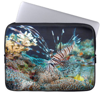 Lionfish on the Great Barrier Reef Laptop Sleeve
