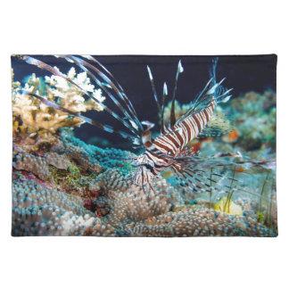 Lionfish Place Mat Cloth Place Mat
