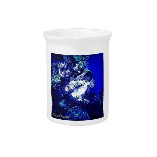 Lionfish / Pterois Drink Pitcher