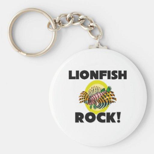 Lionfish Rock Keychain