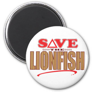 Lionfish Save Magnet
