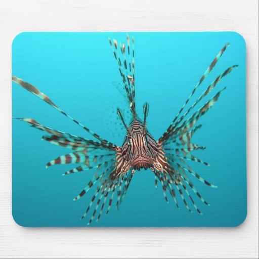 Lionfish Tapetes De Ratones