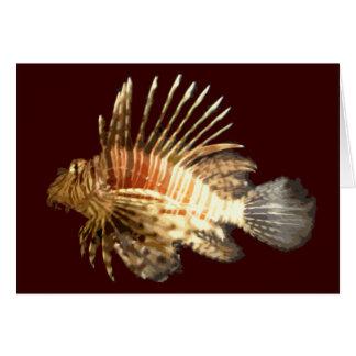 Lionfish Felicitación