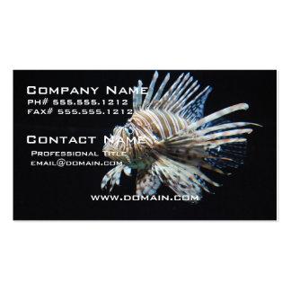 Lionfish Tarjetas De Visita