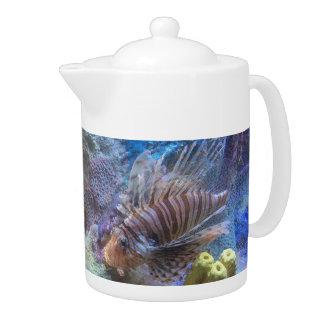 Lionfish Teapot