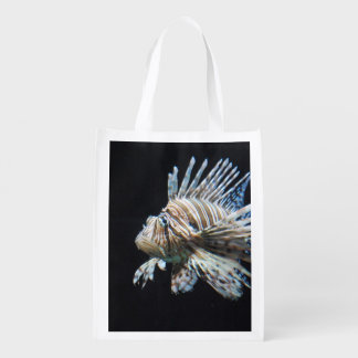 Lionfish Reusable Grocery Bags
