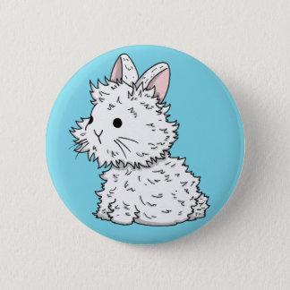 Lionhead bunny badge - Colour of your choice Button
