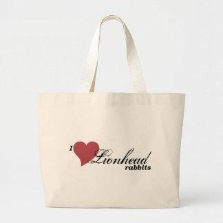Lionhead rabbits bag