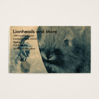 Lionheads and More Business Card