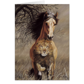 Lionheart Greeting Card