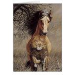 Lionheart Greeting Card