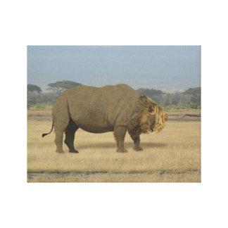 Lionoceros Animal Canvas Print