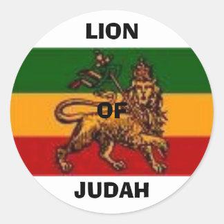 lionofjudah1, LIONOFJUDAH Pegatina Redonda