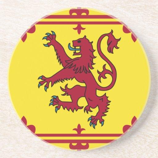 Lionrampant, United Kingdom Beverage Coaster