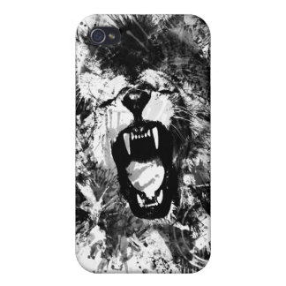 Lions ambition MONOTONED Case For iPhone 4