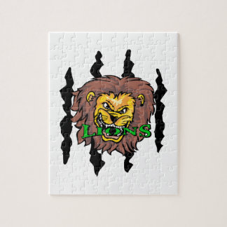 LIONS AND CLAW MARKS PUZZLES