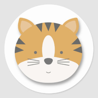Lions and Tigers and Bears {Tiger}   Stickers