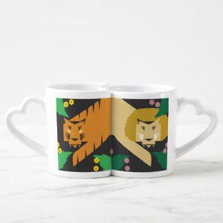 Lions and Tigers no Bears! Coffee Mug Set
