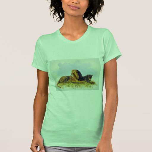 Lions at rest tshirts