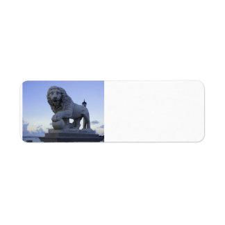 Lions Bridge Return Address Label