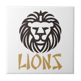 Lions Ceramic Tile