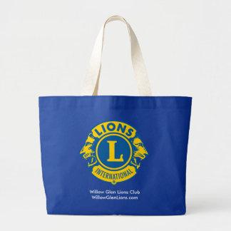 Lions Club Giant Tote Bag