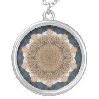 Lions Companion Round Pendant Necklace