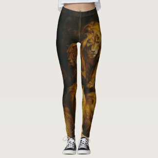 Lions' Den art leggings